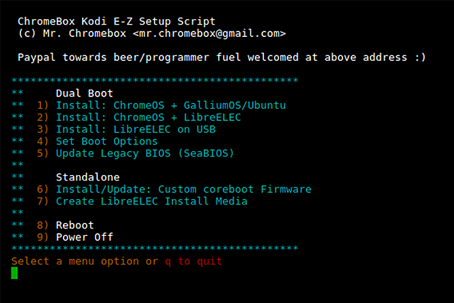 ChromeBox Kodi E-Z Setup Script (LibreELEC/Linux+Kodi) [2017/02/21]
